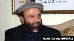 Afghanistan's Economy Minister Abdul Hadi Arghandiwal