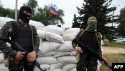 Ուկրաինա - Ռուսամետ զինյալները Դոնեցկում, 31-ը մայիսի, 2014թ.