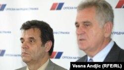 Vojislav Koštunca i Tomislav Nikolić