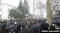 Ադրբեջան -- Բողոքի ակցիա Ղուբայում, արխիվ
