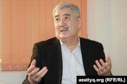 Оппозиционный политик Амиржан Косанов.