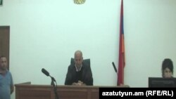 Armenia -- A session of the Tavush region court. Ijevan, 04Aug., 2015
