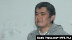 Ескендір Ерімбетов өзіне қатысты іс бойынша сот үкімін тыңдап тұр. Алматы, 22 қазан 2018 жыл