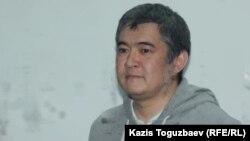 Искандер Еримбетов во время оглашения приговора по делу о «мошенничестве». Алматы, 22 октября 2018 года.