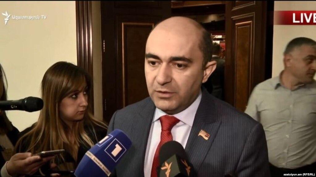 «Я осуждаю решение любых вопросов посредством фейков» - Эдмон Марукян