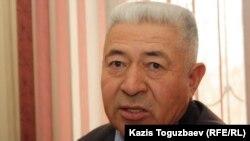 Хасан Дуйсекенов - отец Атабергена Дуйсекенова, погибшего в дни декабрьских событий в Жанаозене. 16 февраля 2012 года.