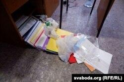 Пасьля ператрусу ў офісе «Сильных новостей» у кастрычніку