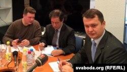 Ян Чул Кім і Руслан Піянткіўскі (справа)