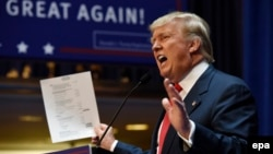 Amerikan işewüri Donald Trump.