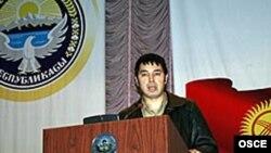 Nurbek Toktakunov, Azimjan Askarov's lawyer, said his client's health was satisfactory and nobody was harassing him at the Bishkek jail.