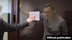 Ալեքսեյ Նավալնին Բաբուշկինսկի շրջանային դատարանում, Մոսկվա, 20 փետրվարի, 2021թ.