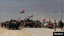 نیروهای شبه نظامی شیعه در عملیات تکریت.