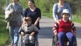 Moldova, copii cu dizabilități