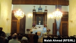 كنيسة مريم العذراء في ساحة الميدان ببغداد