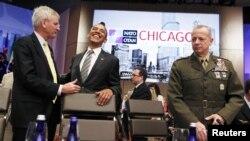 Барак Обама доволен результатами саммита в Чикаго как никто другой