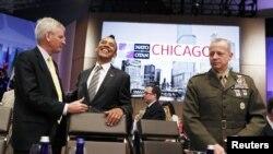 Preşedintele Barack Obama, după sesiunea dedicată Afganistanului