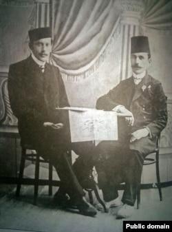 Абдурешид Медиев и Асан Сабри Айвазов