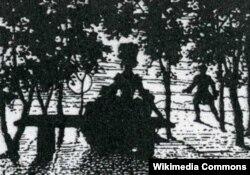 Константин Сомов. «Книга маркизы». Виньетка. 1918