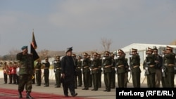 FILE: Afghan President Ashraf Ghani visited Badghis in December 2017.