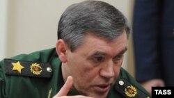 ՌԴ Զինված ուժերի գլխավոր շտաբի պետ Վալերի Գերասիմովը, արխիվ: