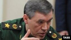 Начальник генерального штаба вооруженных сил России генерал Валерий Герасимов.