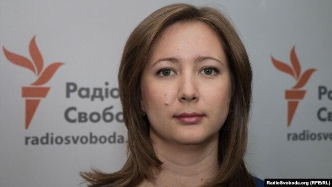 Ольга Скрипник, председатель Крымской правозащитной группы