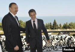 İ.Əliyev və N.Sarkozy