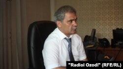 Руководитель организации «Движение таджикские трудовые мигранты» Каромат Шарифов.