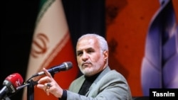 Hassan Abbasi, a former commander of the Revolutionary Guard, often makes very controversial claims in speeches and on television.