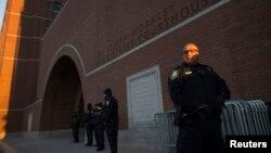 Masa të sigurisë gjatë mbajtjes së seancës ndaj Tsarnaev