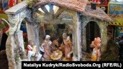 İsa Peyğəmbərin doğulmasını təsvir edən şirni