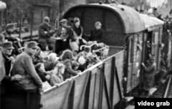 Etnici germani expulzați din Cehoslovacia după încheierea celui de-a Doilea Război Mondial