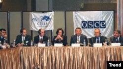 Ali təhsil müəssisələrində korrupsiyaya həsr olunmuş beynəlxalq konfrans, Bakı, 29 noyabr 2006