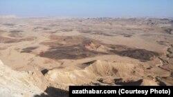 صحرای نِگِب در جنوب اسرائیل