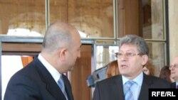 Președintele Mihai Ghimpu și Mevlut Cavusoglu