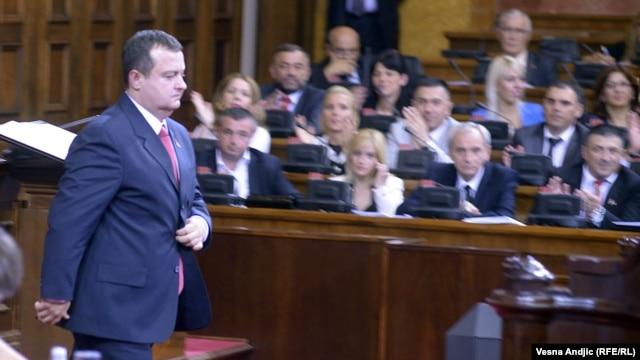 Ivica Dačić u Parlamentu