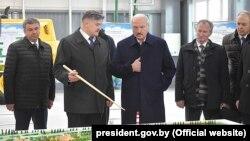 Лукашенко на Светлогорском ЦБК