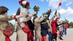 «Жаночы марш у цэнтры Менску пры жывым Лукашэнку? Done!»