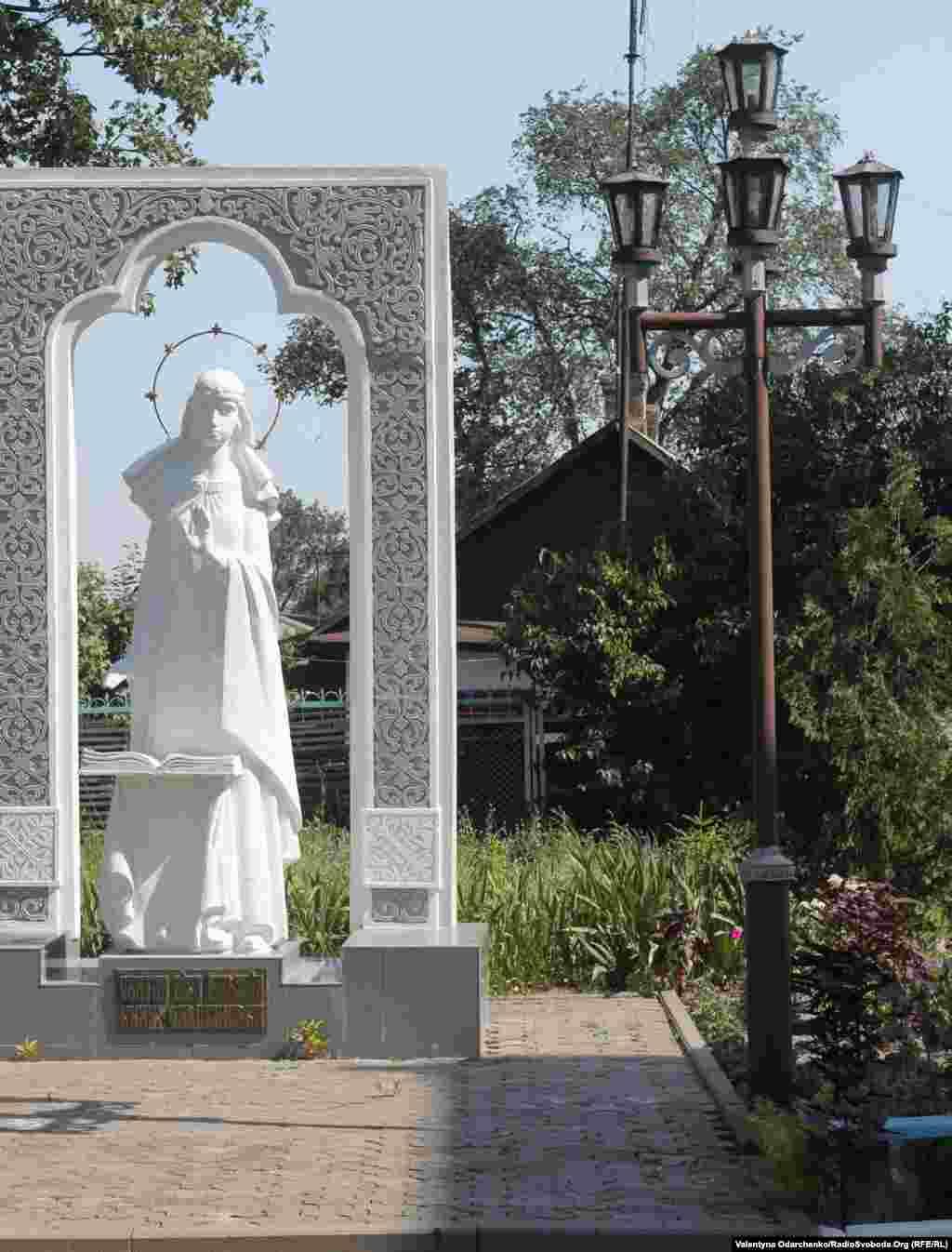 Пам'ятник княжні – святій Улянії Гольшанській