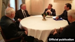 ՀՀ ԱԳ Էդվարդ Նալբանդյանի հանդիպումը ԵԱՀԿ Մինսկի խմբի համանախագահների հետ, արխիվ