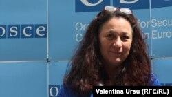 Jennifer Brush la sediul OSCE de la Viena
