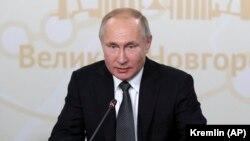 ولادیمیر پوتین رئیس جمهور روسیه۲۷ نوامبر ۲۰۱۹