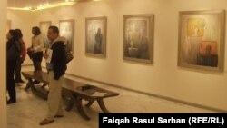 """من معرض """"خطاب الصمتط للفنان سعدي الكعبي"""