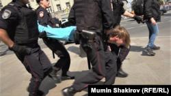Protestat në Moskë