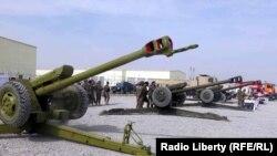 Əfqanıstan milli ordusunun texnikası