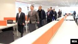 Премиерот Никола Груевски присуствуваше на отворањето на канцелариите на британската ИТ-компанија Ендава.