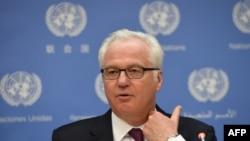 Голова Ради безпеки ООН, посол Росії Віталій Чуркін