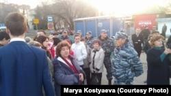 Протестная акция в Ульяновске
