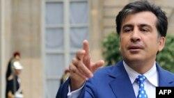 Михаил Саакашвили и приглашенный на встречу молодой историк говорили о том, что грузины правили рядом стран в Азии