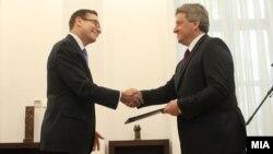 Новиот амбасадор на САД во Македонија Џес Л.Бејли ги предаде акредитивните писма на претседателот Ѓорге Иванов.